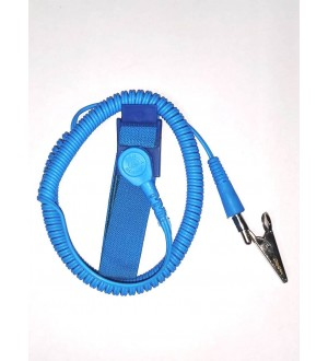 ESD Safe Wristband C Clip - Double Wire
