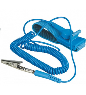ESD Safe Wristband C Clip - Single Wire